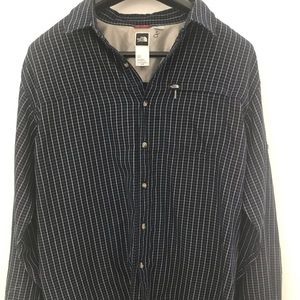 The North Face Button Down Flannel Shirt